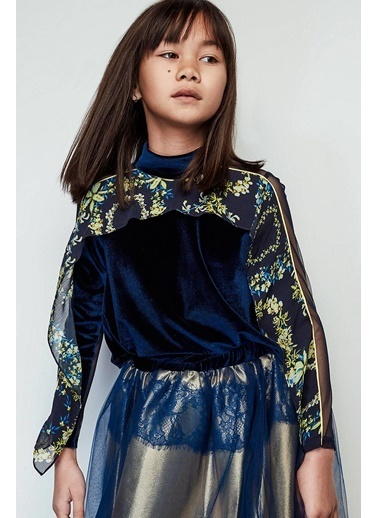 Lia Lea Kız Çocuk Lacivert Bluz Lacivert